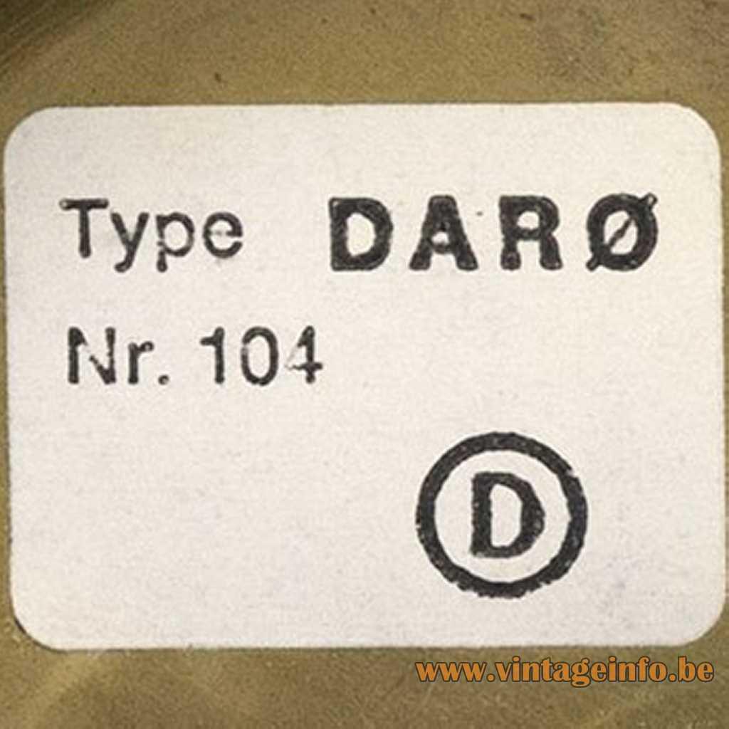 Darø Denmark Label