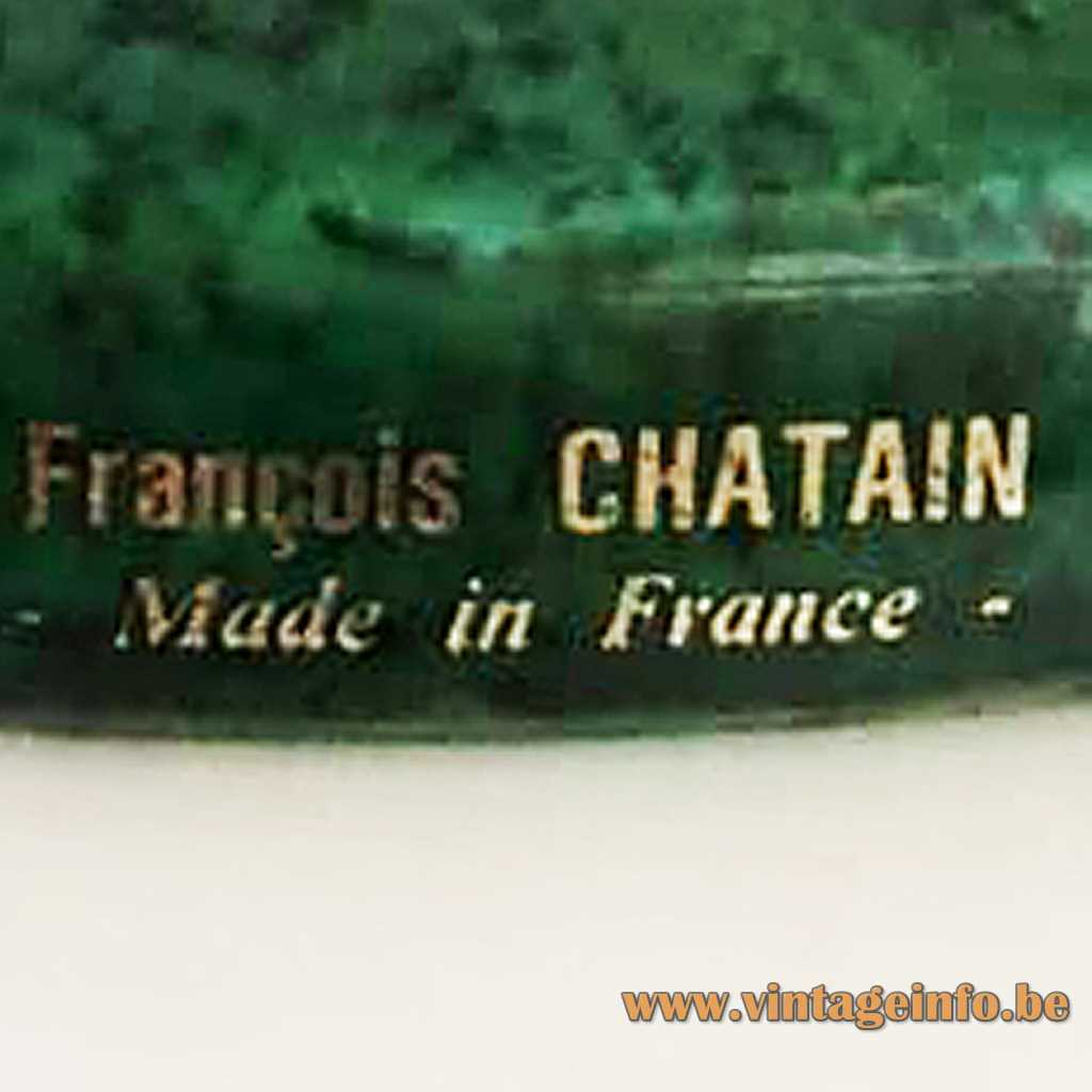 François Chatain label