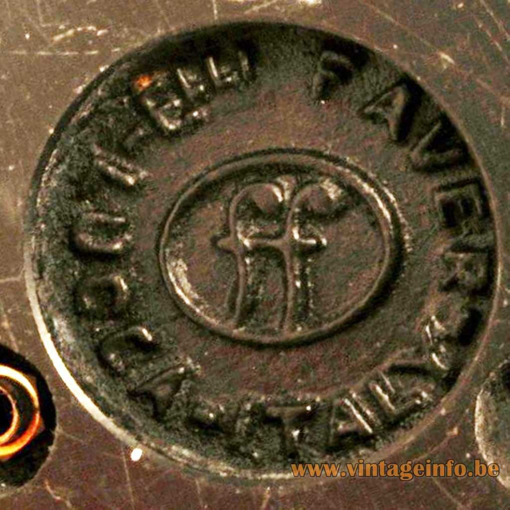 Fratelli Faver Lucca Italy Label Logo