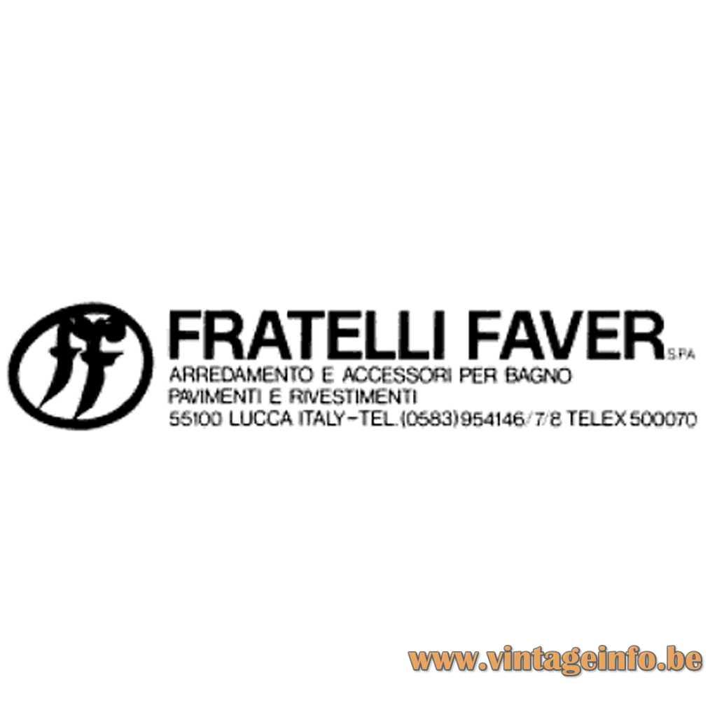 Fratelli Faver Lucca Italy Logo + Address