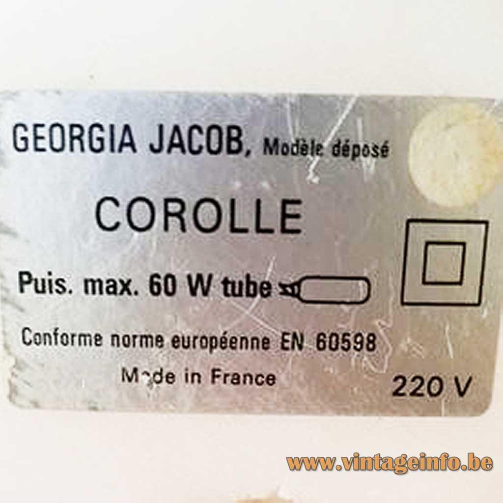 Georgia Jacob Corolle label France