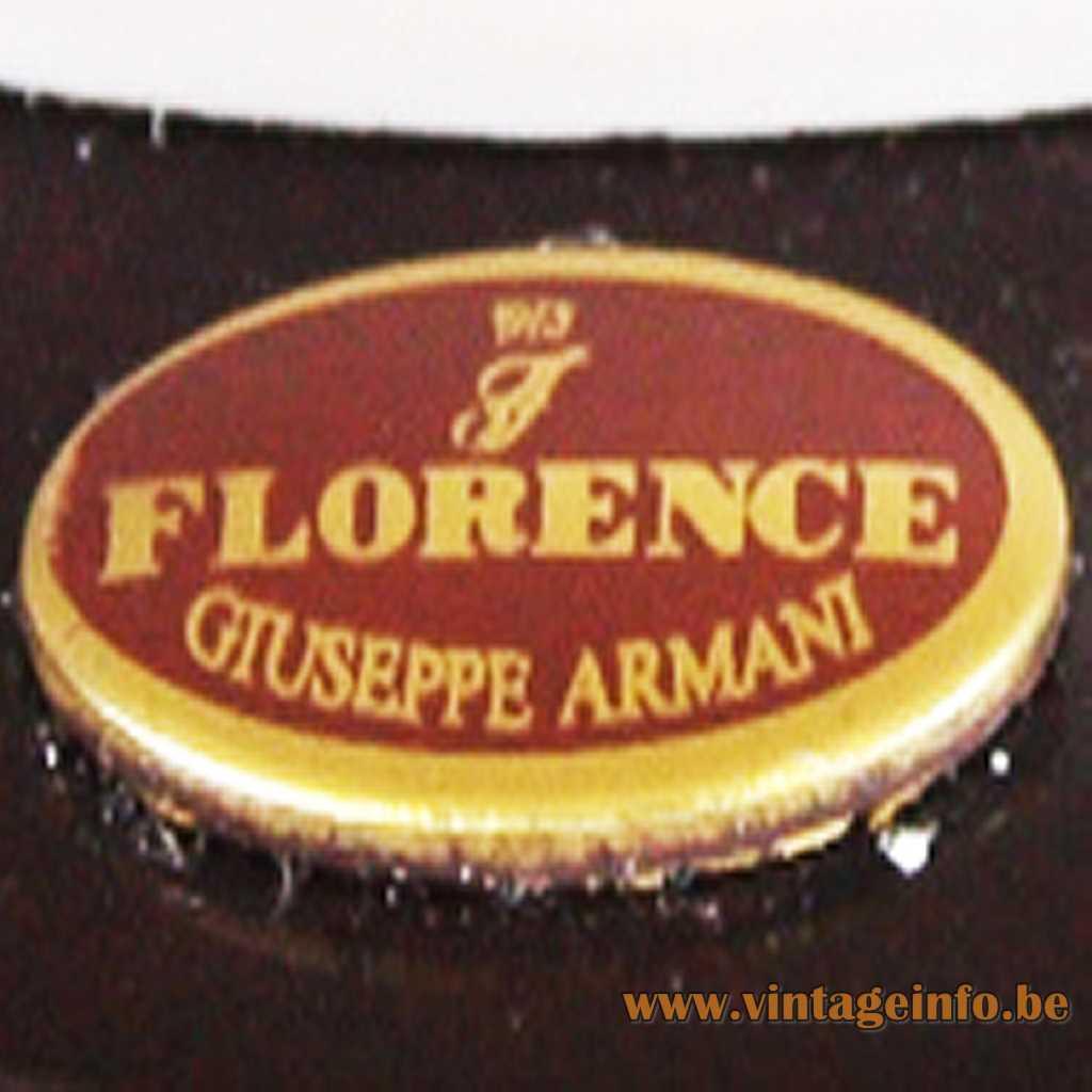 Giuseppe Armani Label Florence