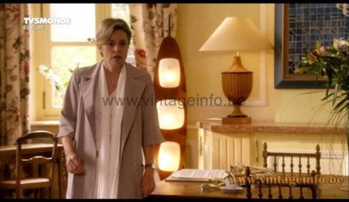 Reggiani floor lamp used as a prop in the 2016 French film Le Chapeau De Mitterrand