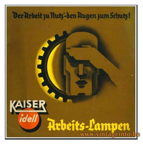 Kaiser Idell 1936 - 1937 Catalogue