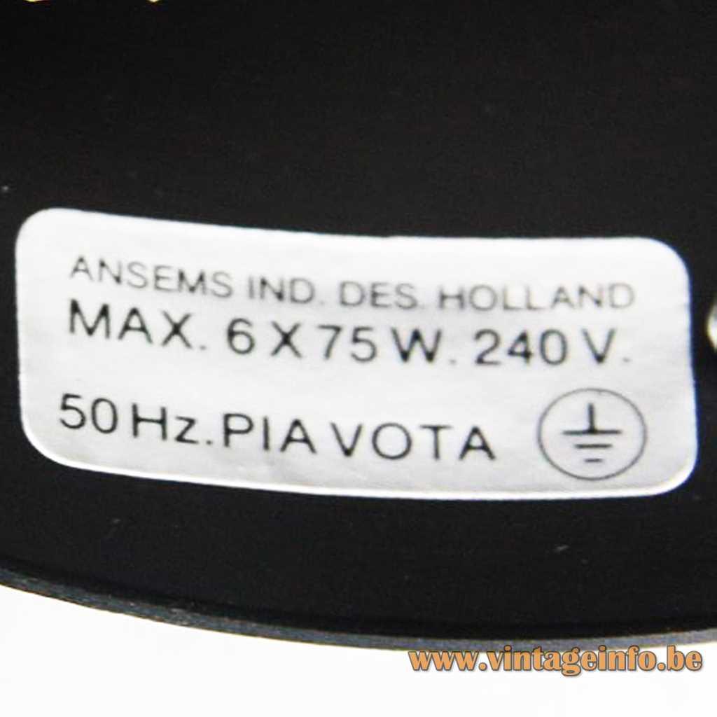Ansems Industrial Design (AID) Label