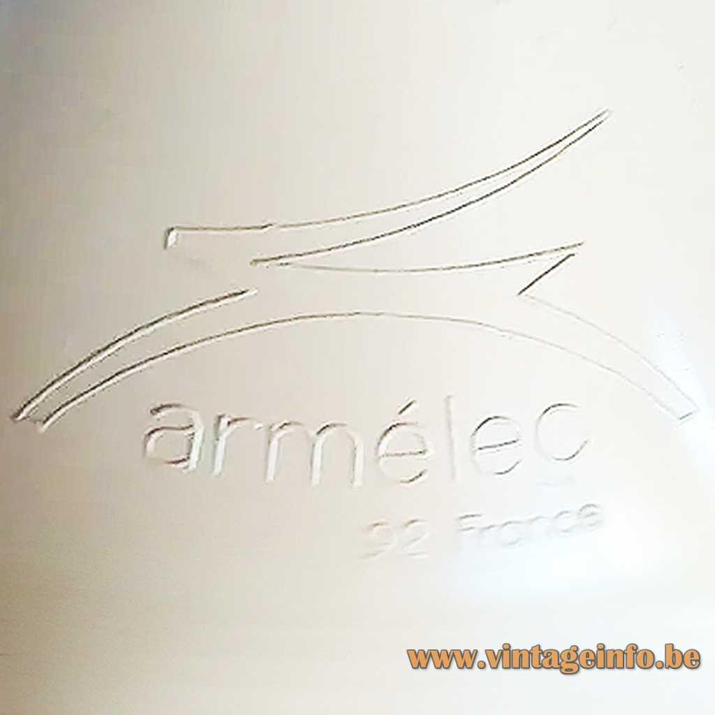 Armelec 92 France pressed logo