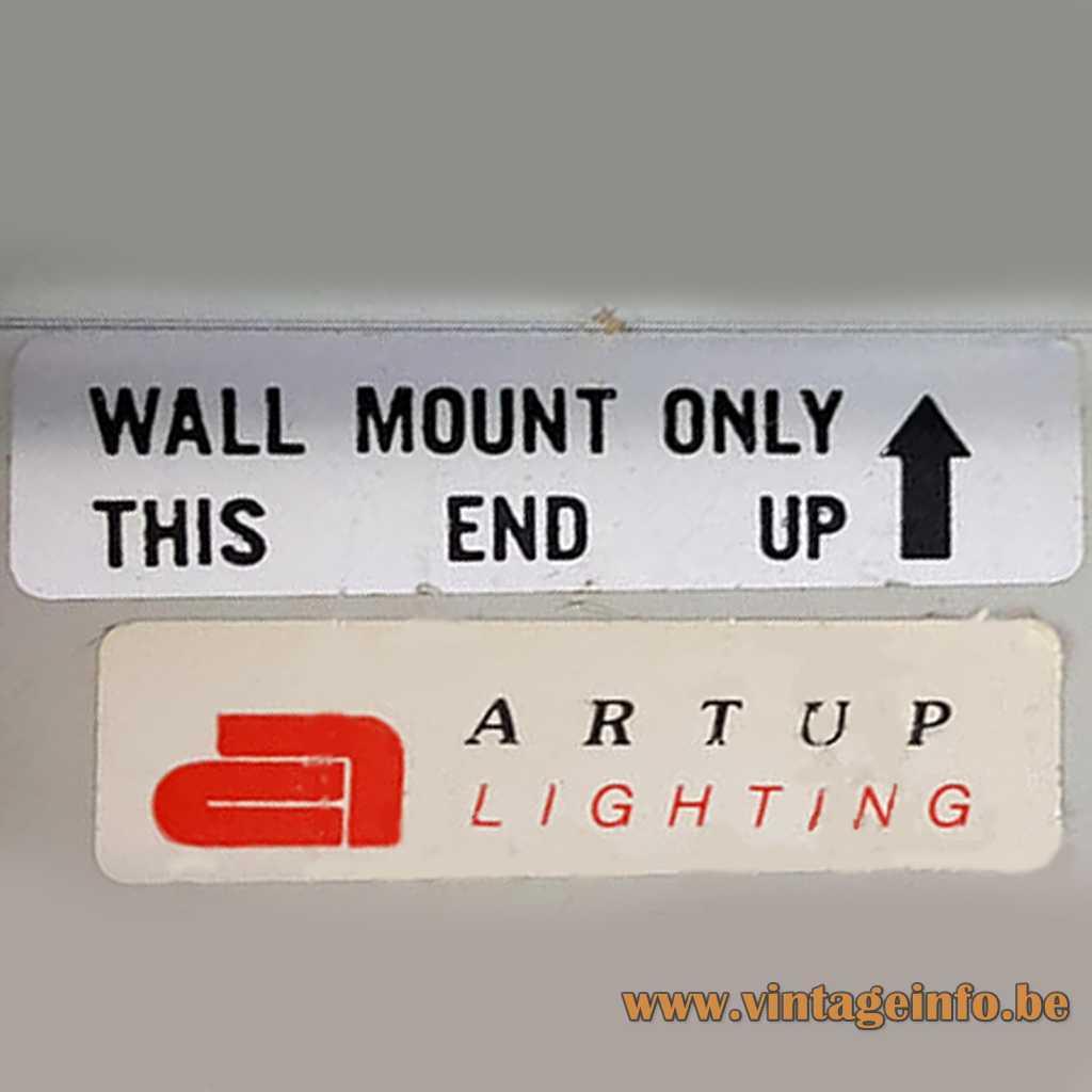 Artup Lightings - Artup Corporation Label