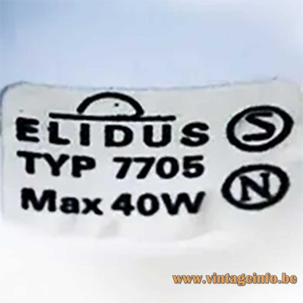Elidus Belysning AB Sweden Label