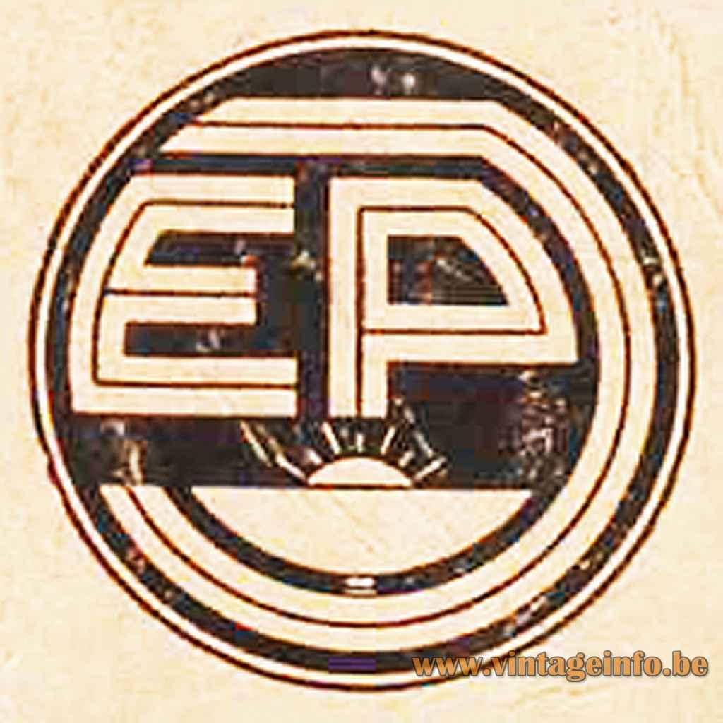 Ernes Plange Leuchten 1939 Logo