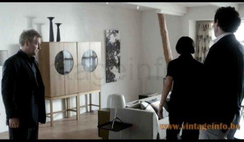 Foscarini Lumiere Grande table lamp used as a prop in the 2008 Wallander TV Series S1E2