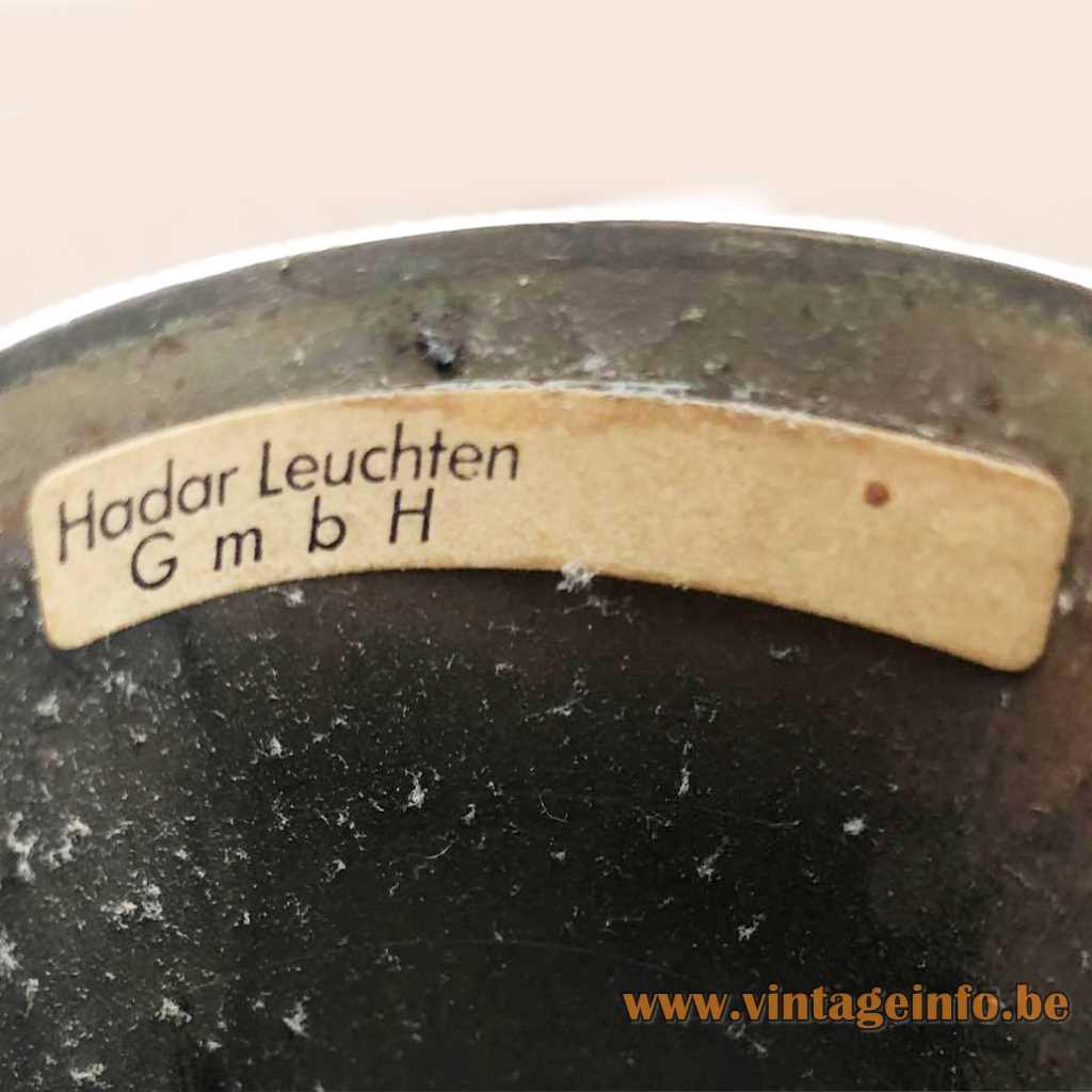 Hadar-Leuchten GmbH Germany Label