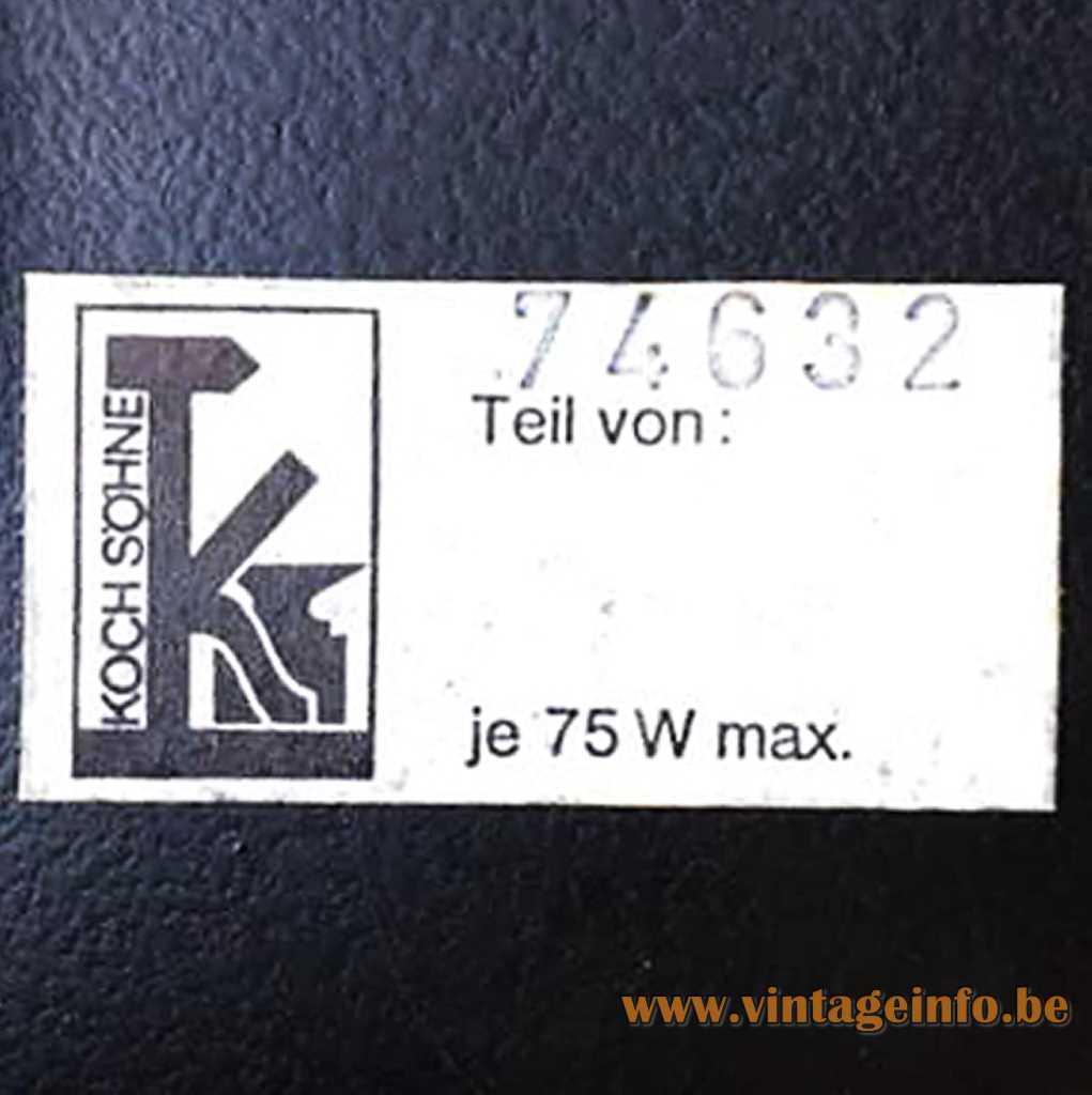 Koch & Söhne label