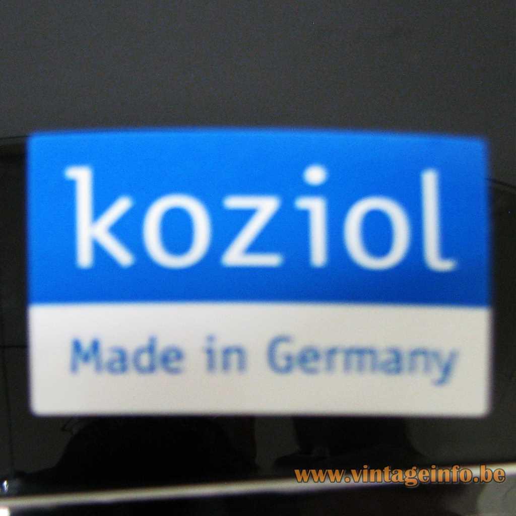 Kozoil Germany Label