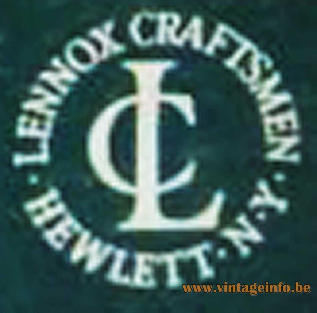 LC Lennox Craftsmen Hewlett N.Y. logo