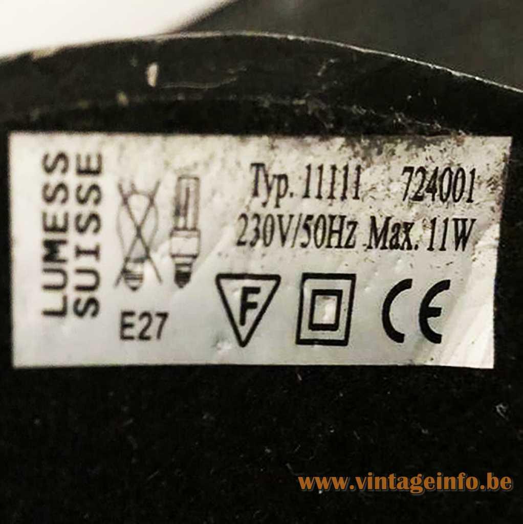 Lumess Switzerland Label