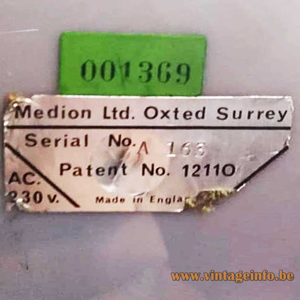 Medion LTD label
