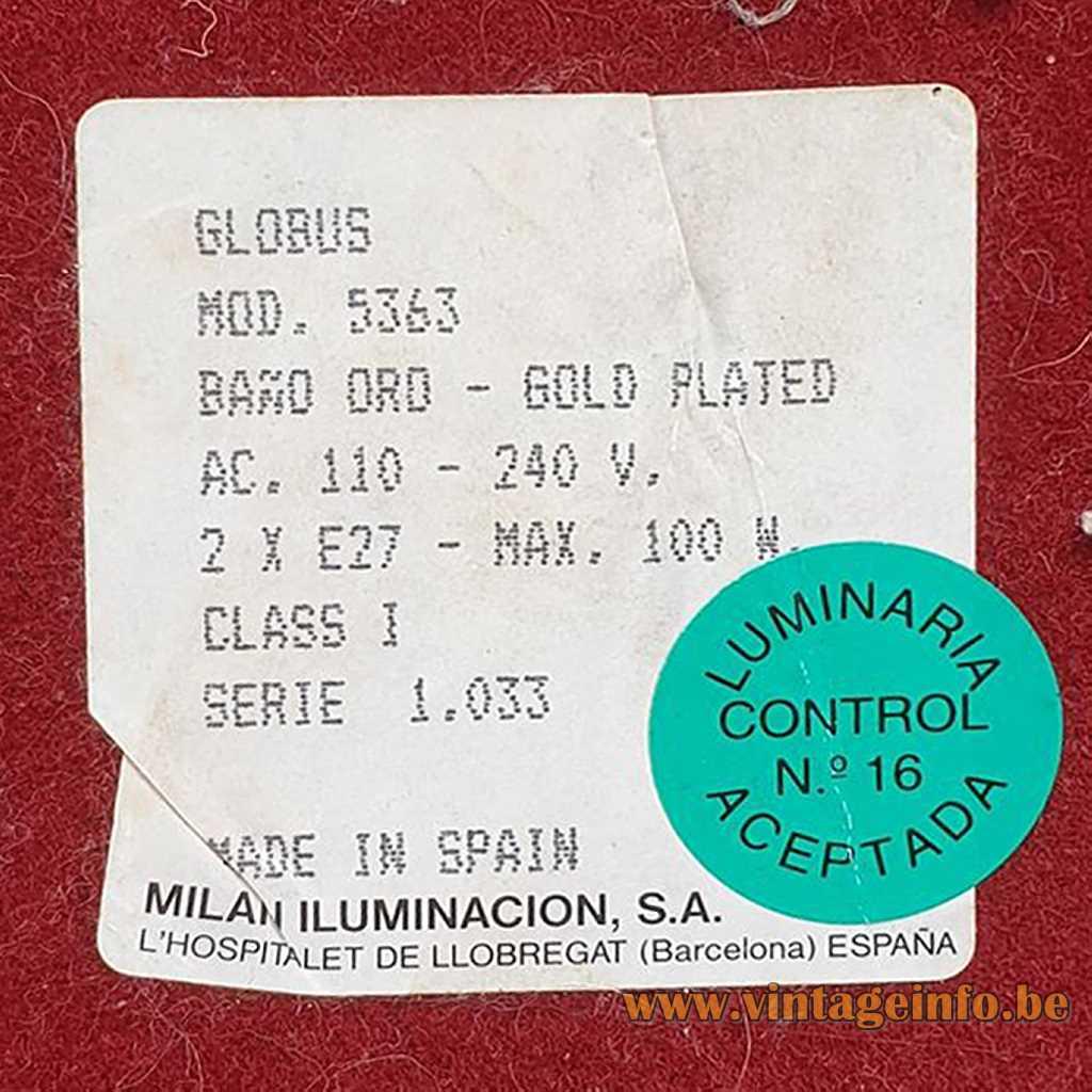 Milán Iluminación, Barcelona Label