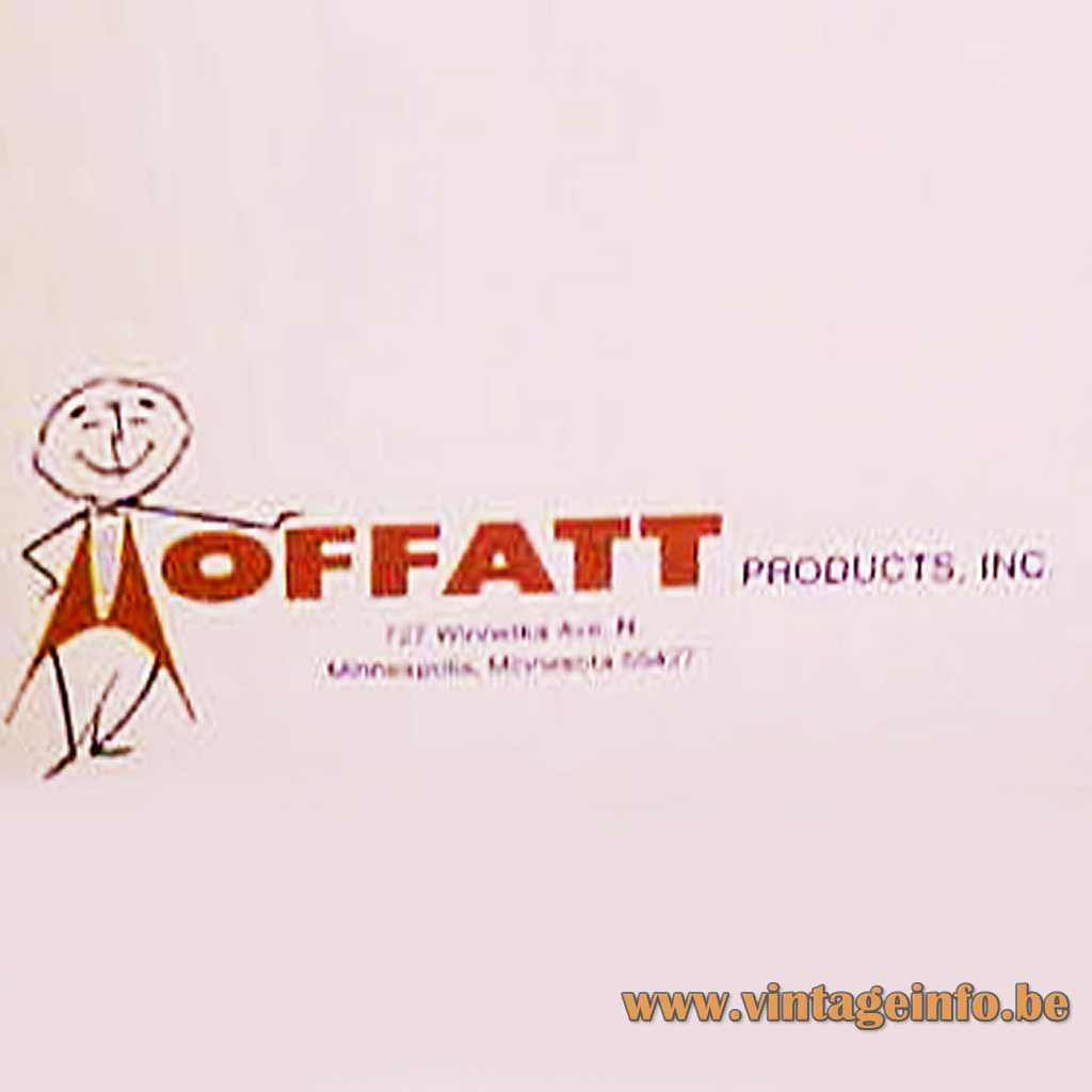 Moffatt Products Inc 1970s Logo