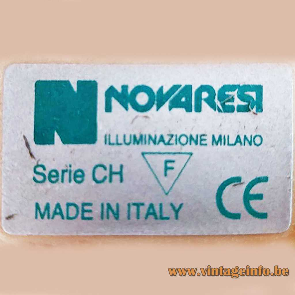 Novaresi Illuminazione label