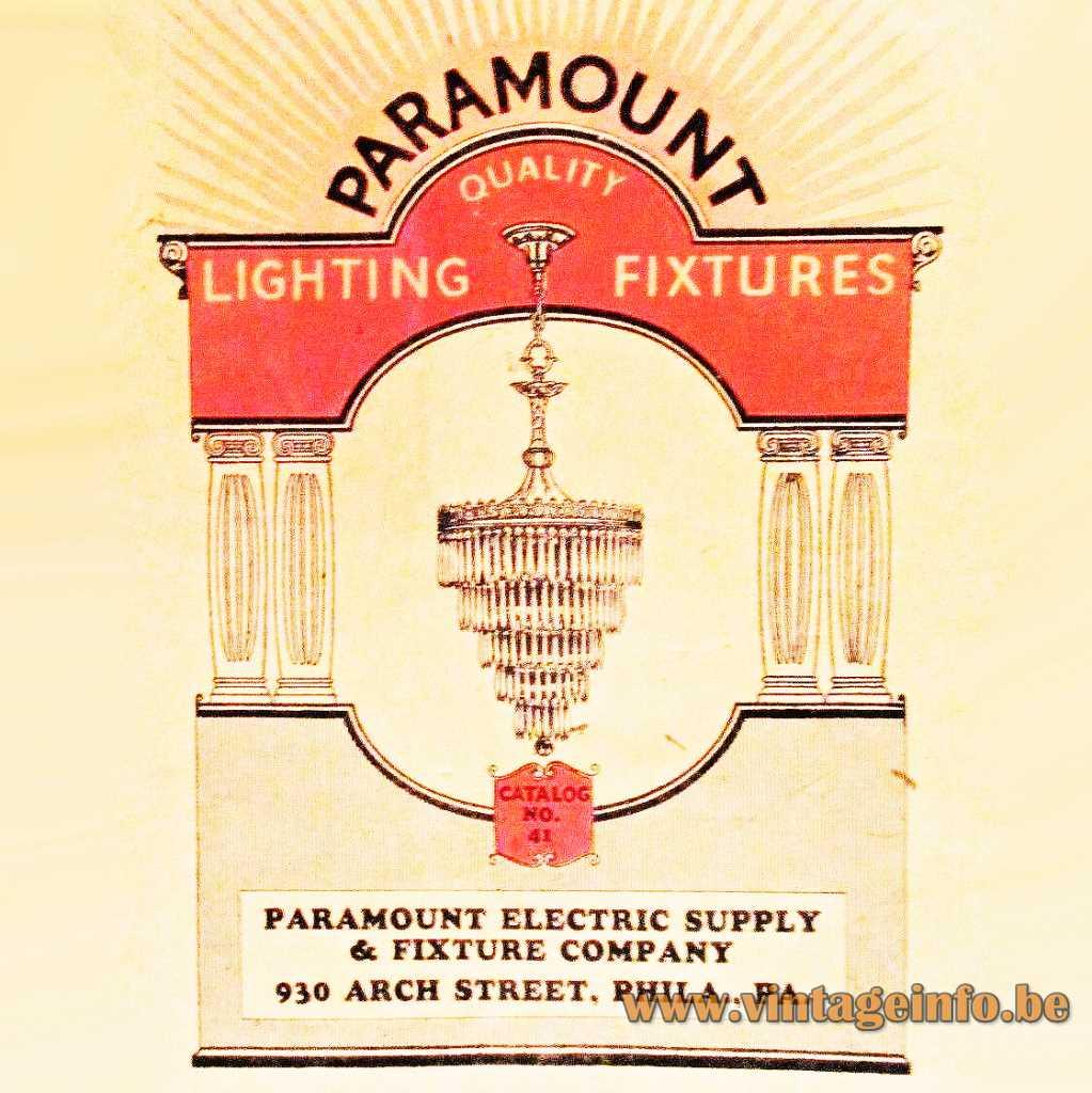 Paramount Electric Supply & Fixture Company Philadelphia logo