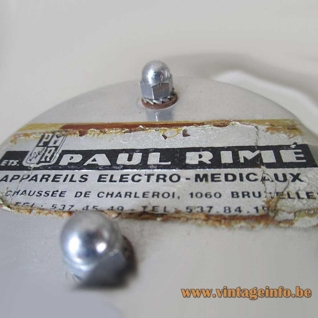 Paul Rimé Brussels Belgium label