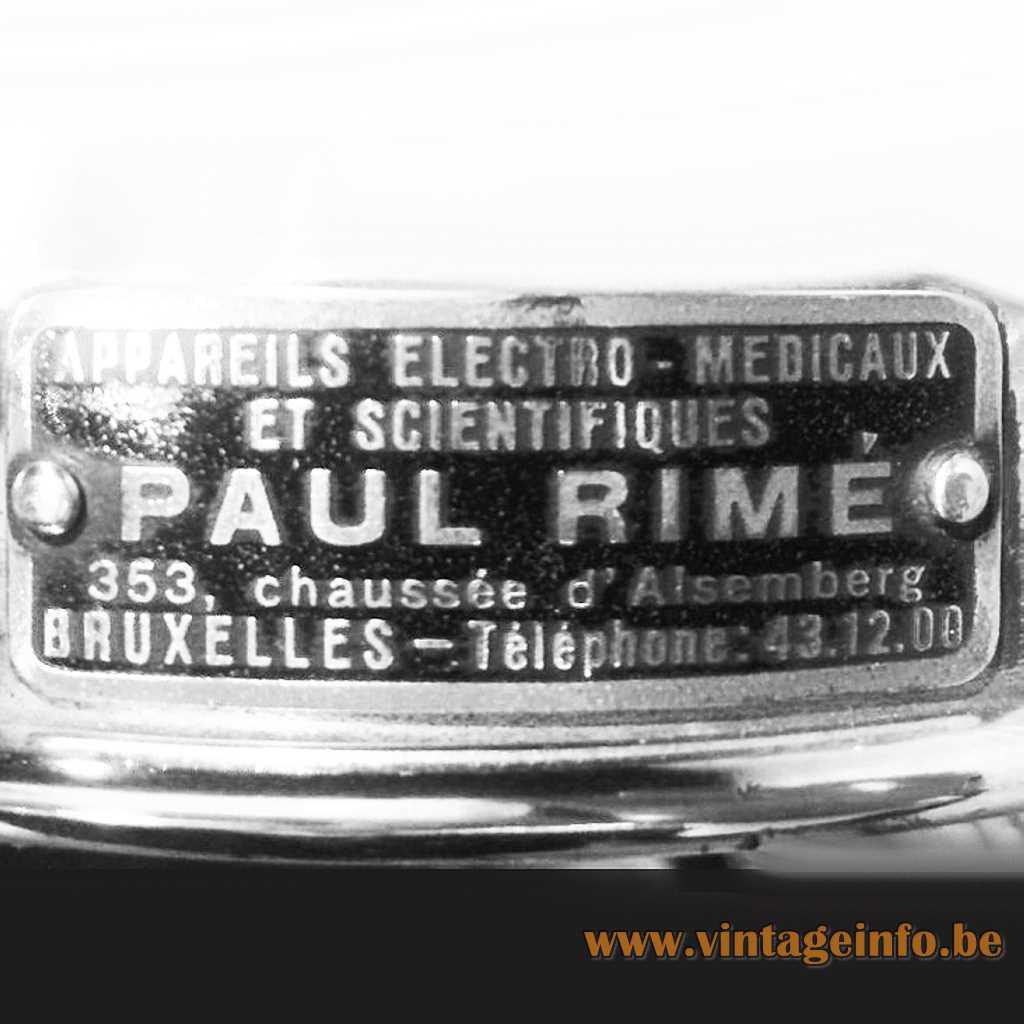 Paul Rimé Brussels Belgium metal label