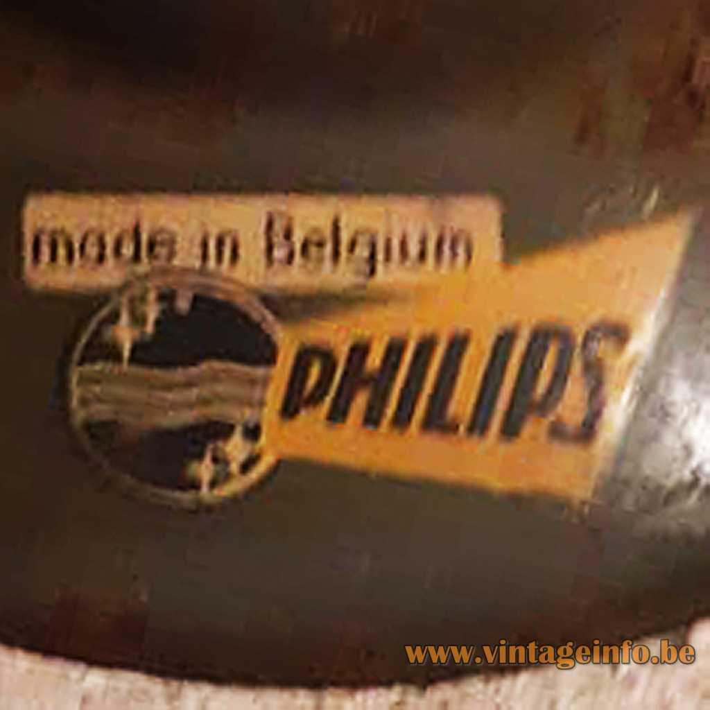 Philips Belgium label