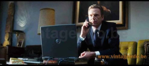 Philips Diplomat desk lamp used as a prop in the 2005 film The Interpreter