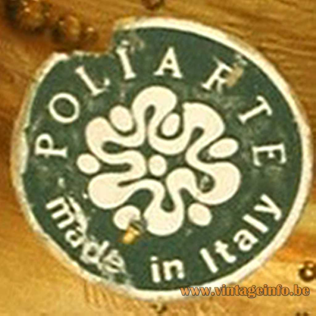 Poliarte Italy Glass Label