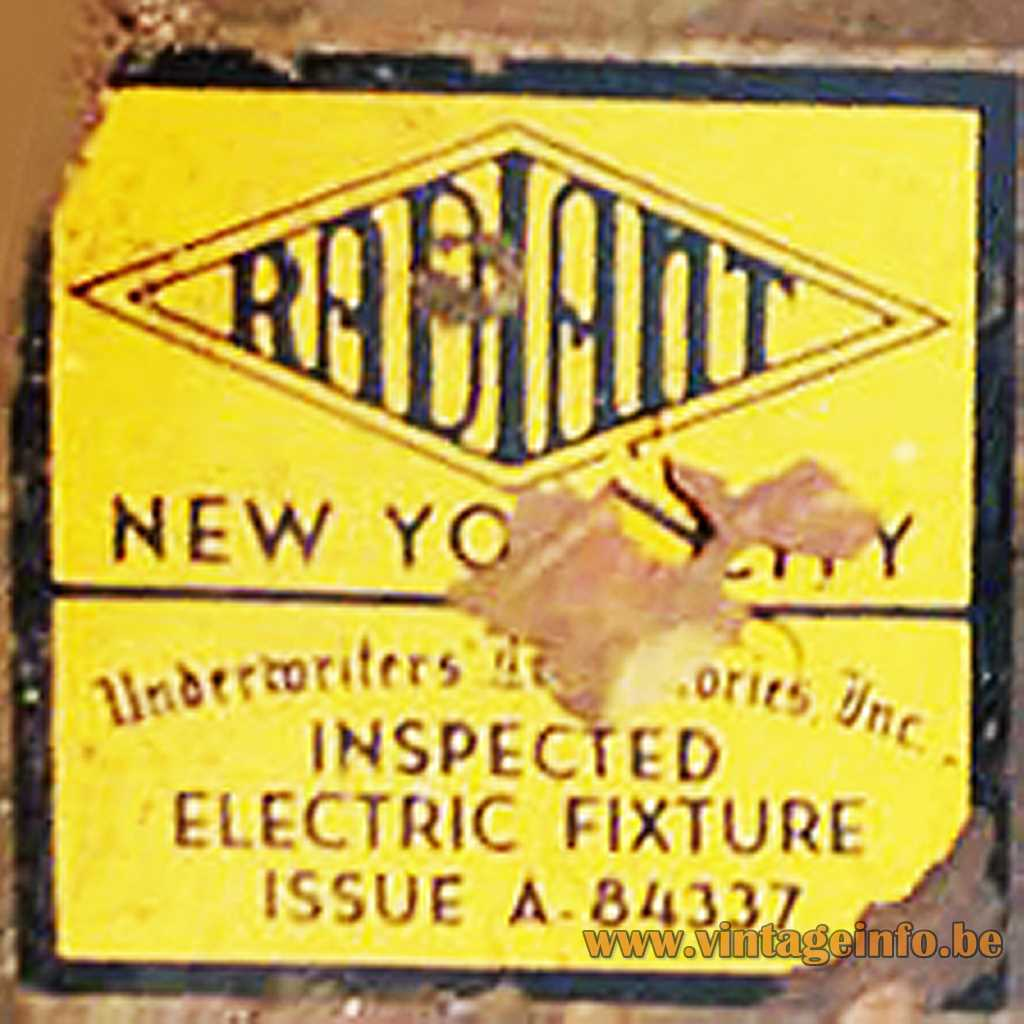 Radiant New York Label