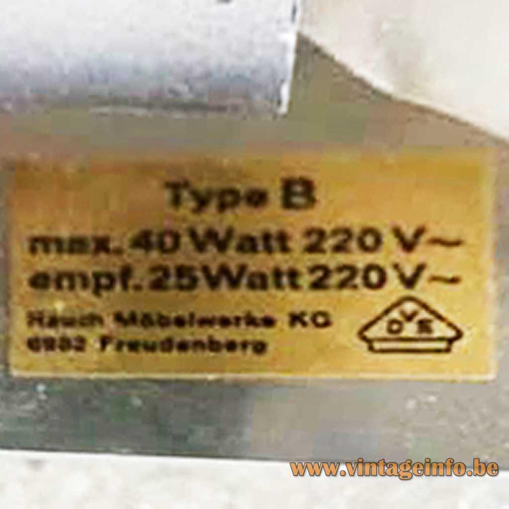 Rauch Möbelwerke label