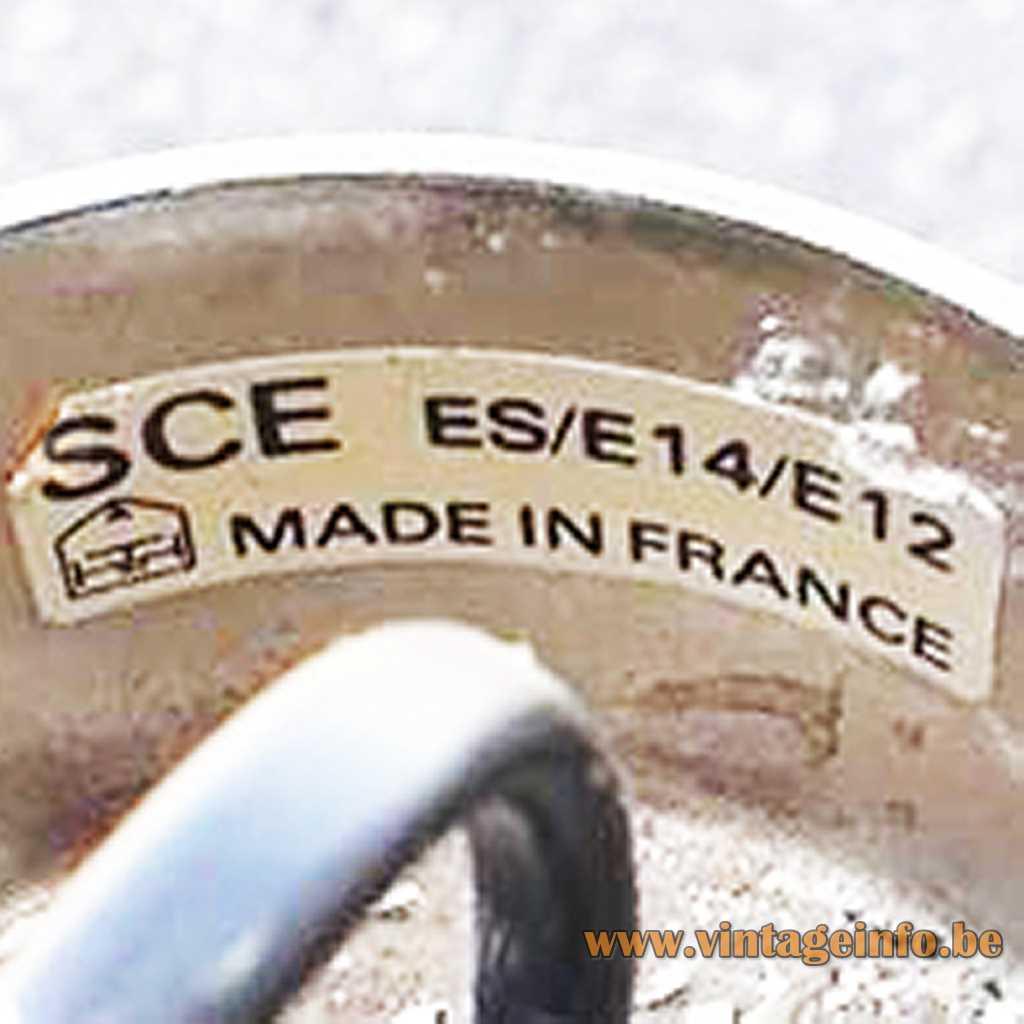 SCE - Société Centrale d'éclairage France label