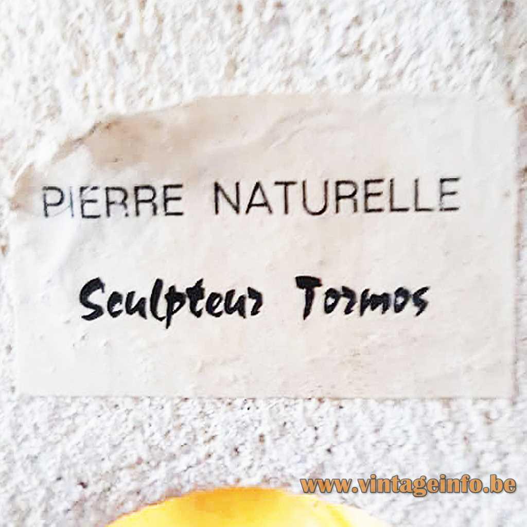 Sculpteur Tormos Label