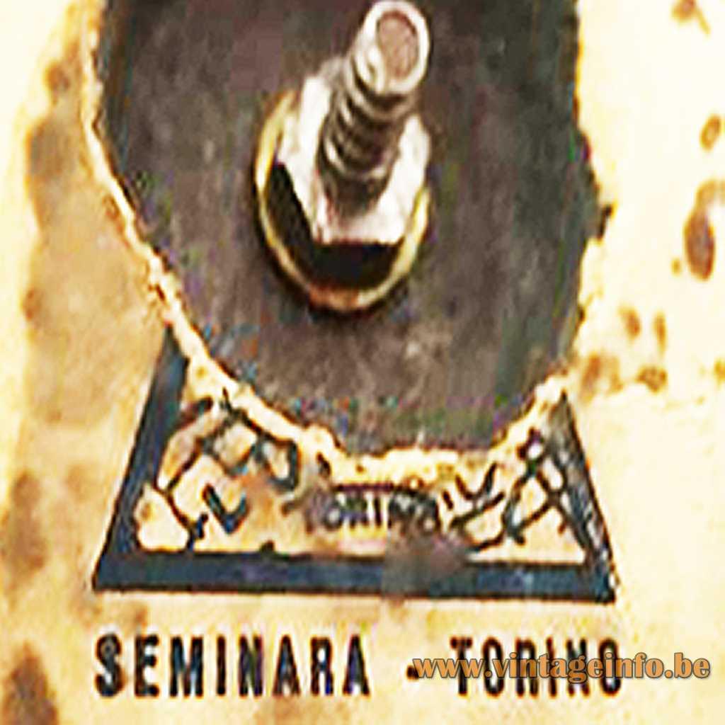 Seminara Torino Logo Stamp