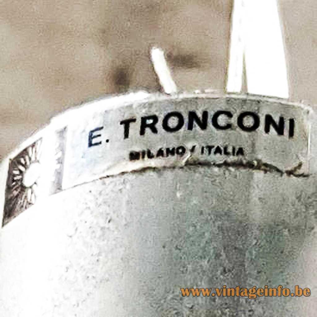 E. Tronconi Milan, Italia Label - Enirco