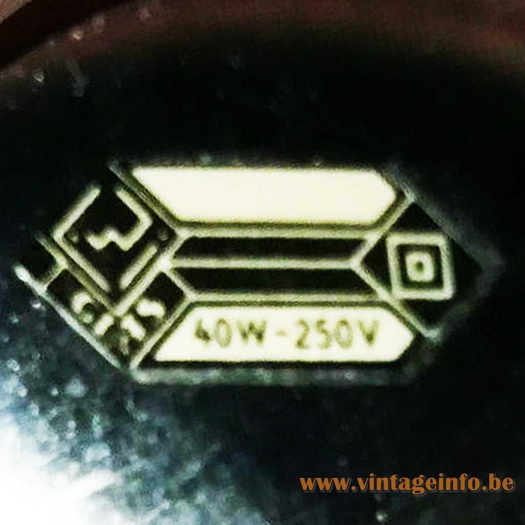 VEB Spezialleuchtenbau Wurzen Label
