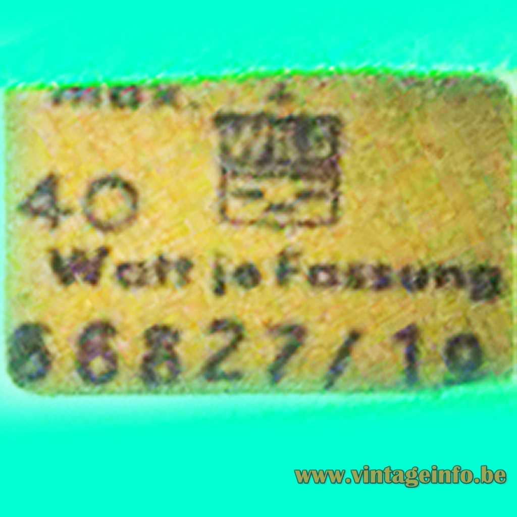 WKS Leuchten Label