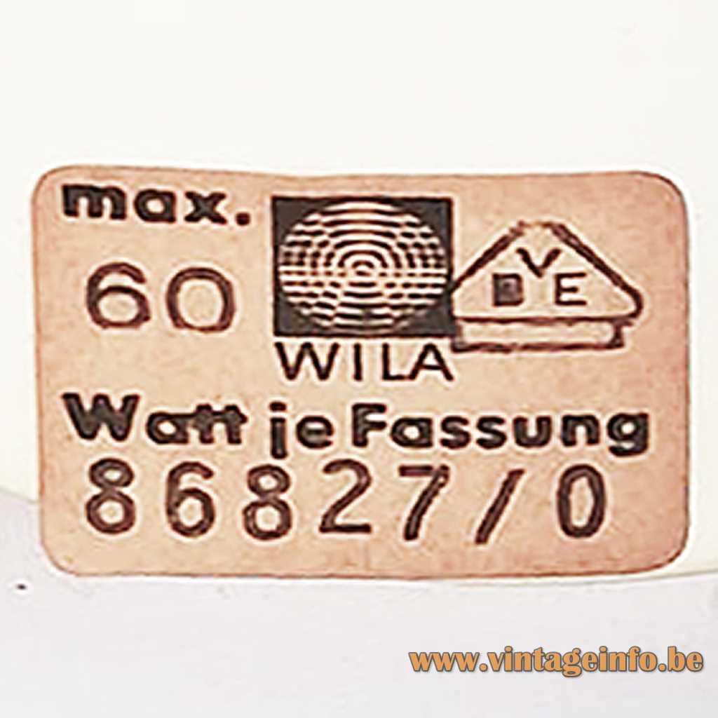 Wila Leuchten Label