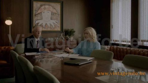 Anders Pehrson Bumling floor lamp used as a prop in the 2015 TV series Case S1E2