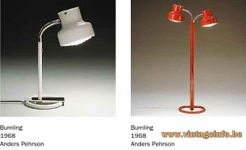 Anders Pehrson Bumling Floor Lamp & Table Lamp - Ateljé Lyktan Catalogue Picture