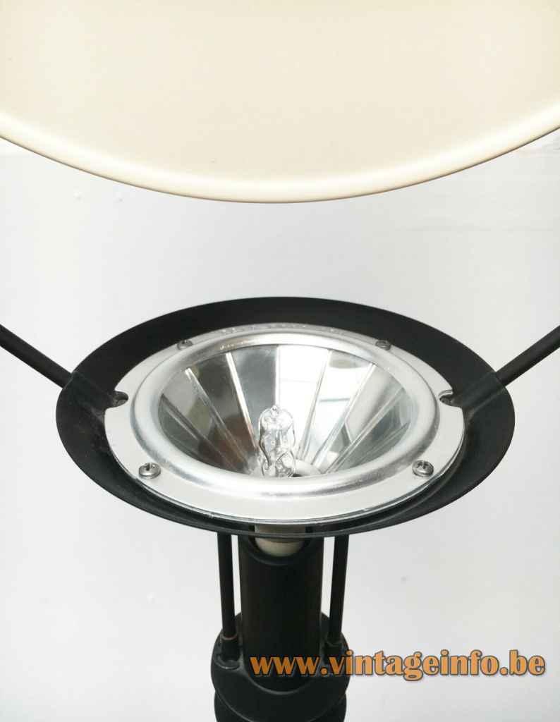 Artemide Polifemo floor lamp 1983 design: Carlo Forcolini dichroic halogen bulb 1980s Italy