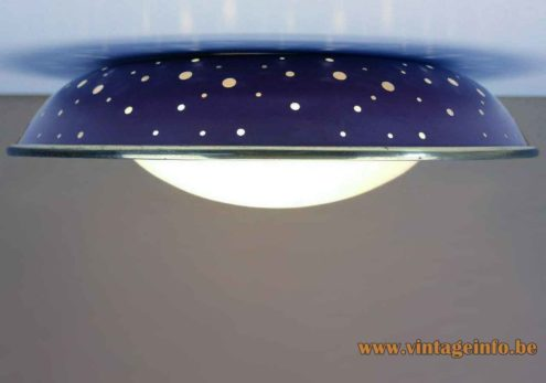 Ernest Igl Hillebrand Pendant Lamp - Flush Mount Version