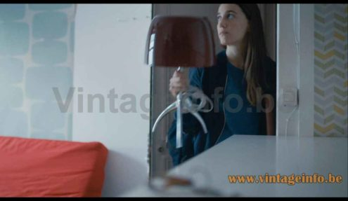 Foscarini Lumiere Grande table lamp used as a prop in Dix Pour Cent, Call My Agent TV Series 2017 S2E5