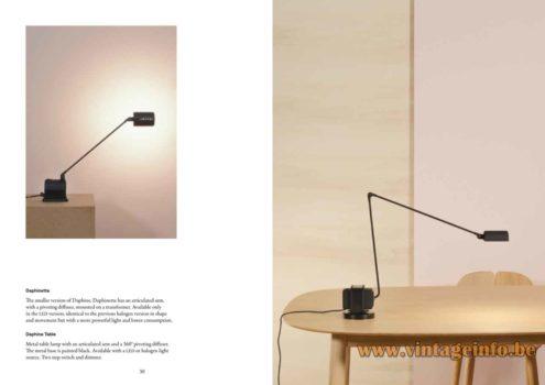 Lumina Daphinette Desk Lamp - Lumina Daphine Desk Lamp - 2020 Catalogue Picture