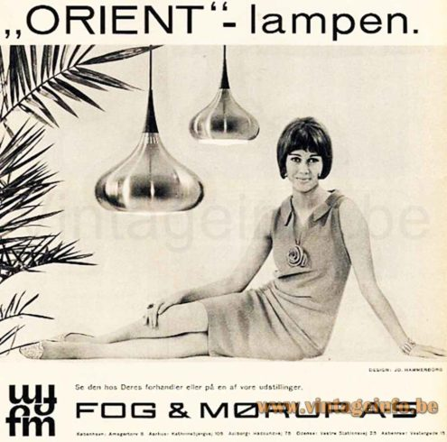 Fog & Mørup Orient Pendant Lamp - Catalogue Picture