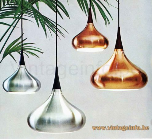 Fog & Mørup Orient Pendant Lamp - Catalogue Picture - Copper & Aluminium