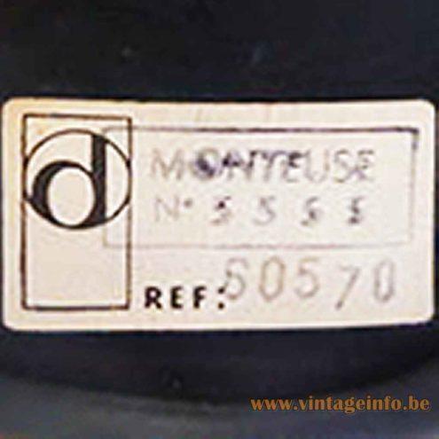 Orange Delmas Desk Lamp - Delmas Label - Monteuse: editor, fitter, cutter