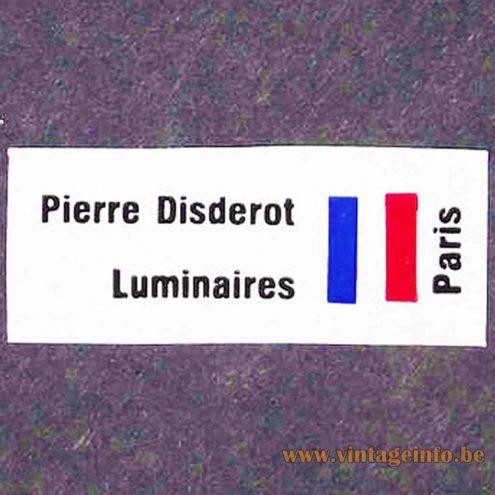Pierre Disderot Label France
