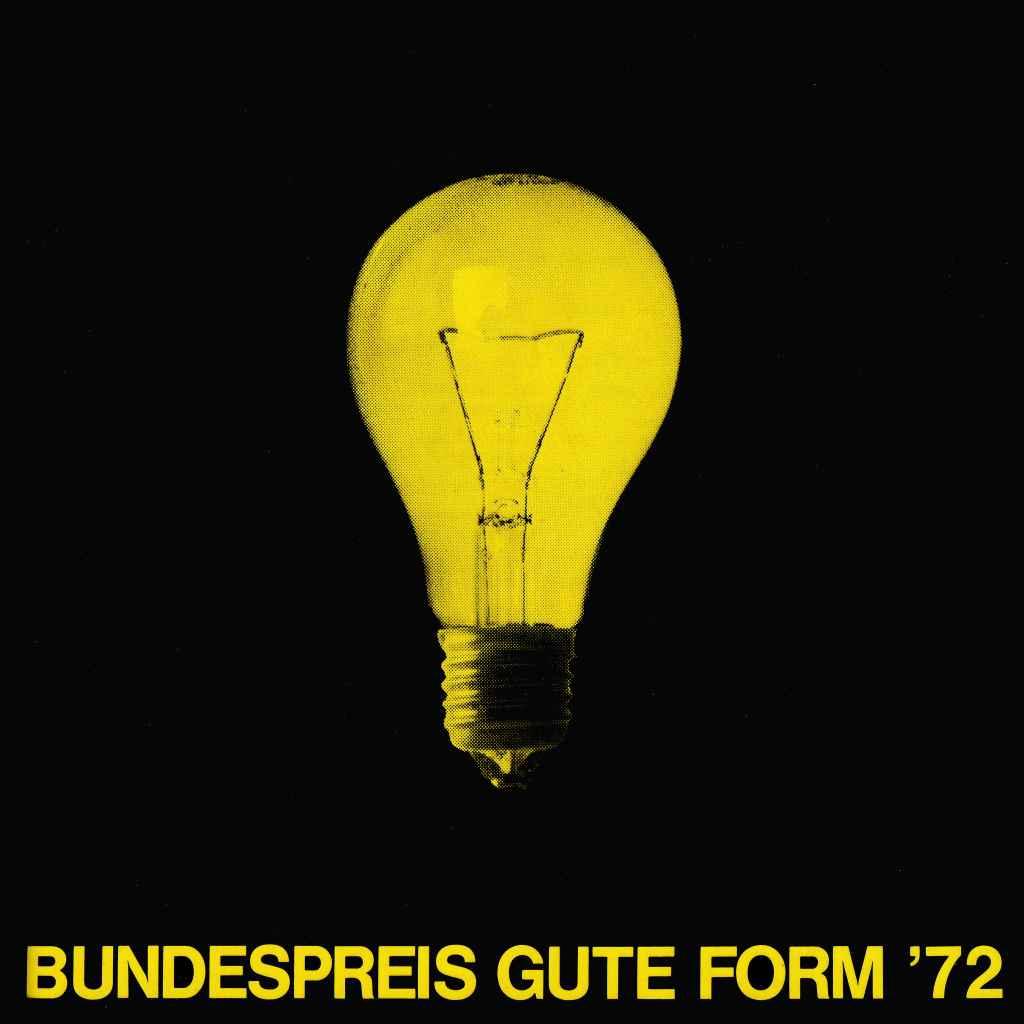 Rolf Krüger - Bundespreis Gute Form 1972