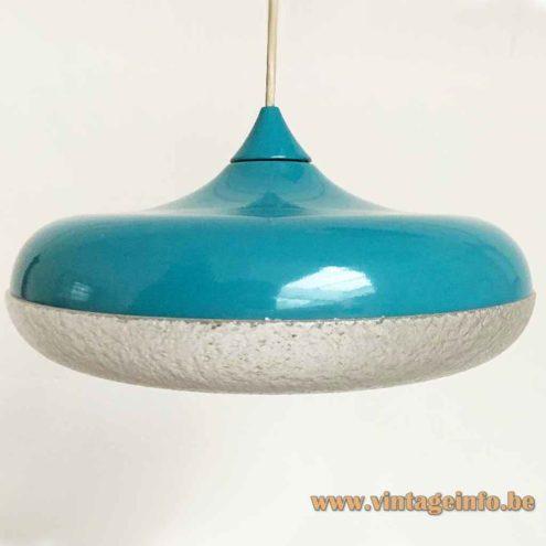 Siemens Siform Pendant Lamp - Turquoise Version